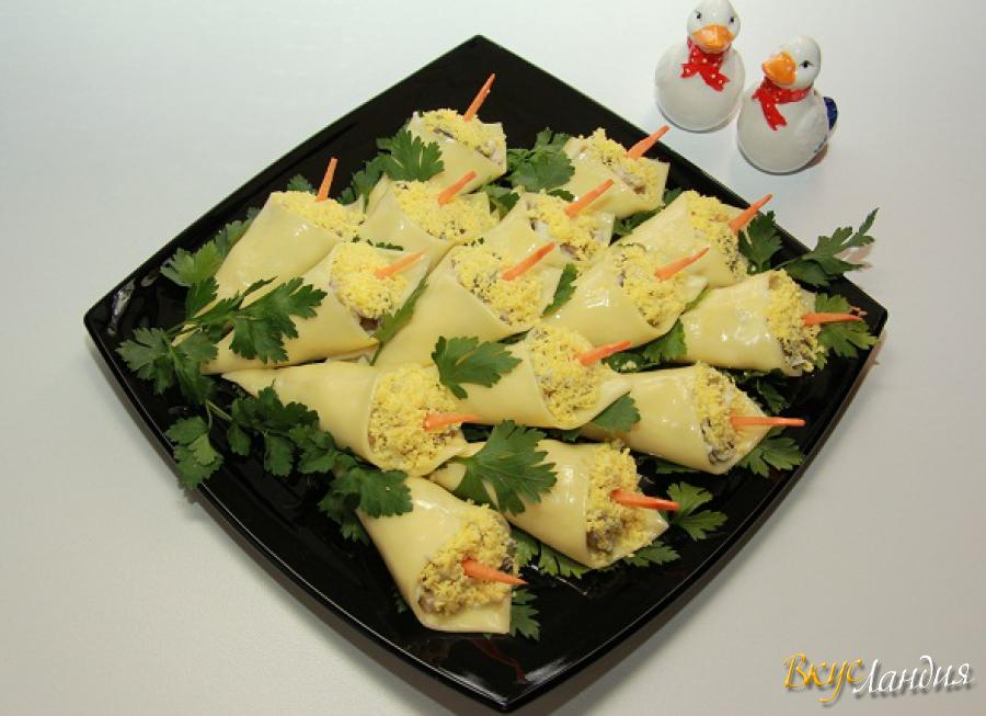 Рецепты салатов с фото из кукурузы и кал